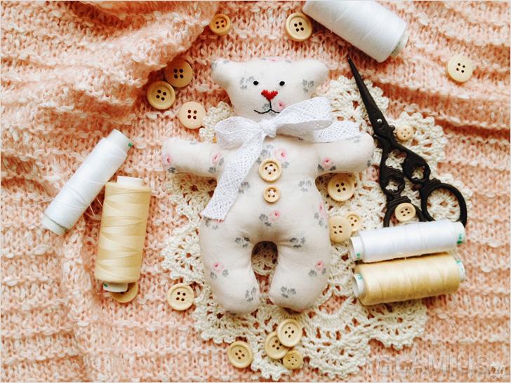 Новогодние мишки своими руками
