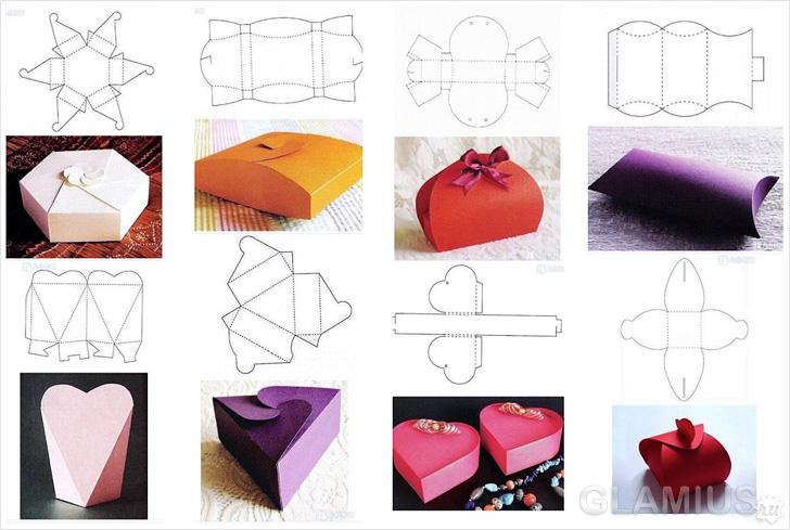 Как интересно украсить коробку для подарка 9