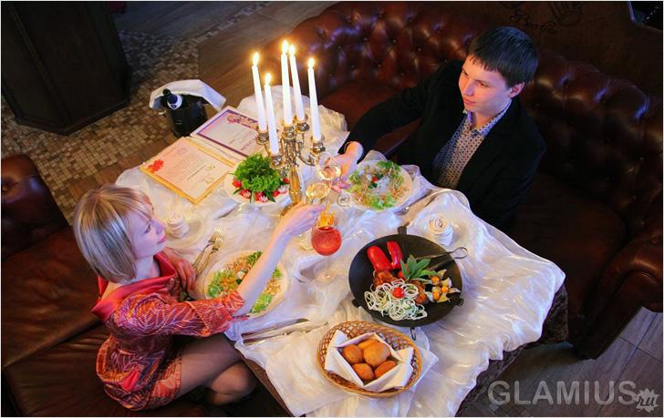 Как сделать романтический ужина дома 94