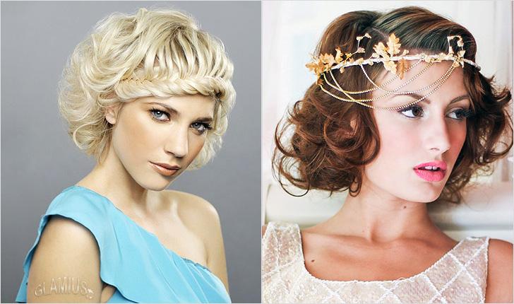 Новогодние причёски 2016