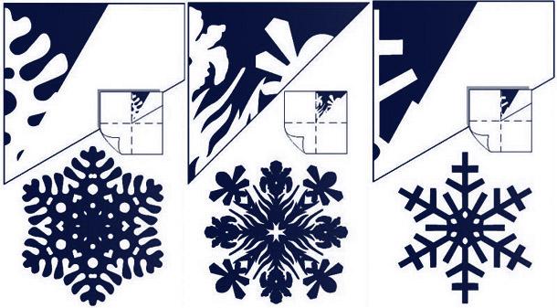 Снежинки для своими руками схемы 117
