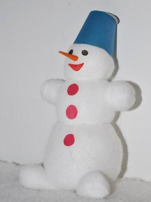 Поделка снеговиков на новый год