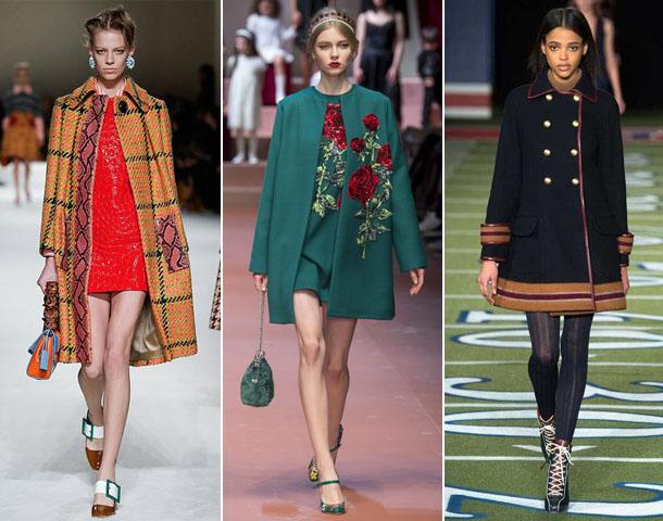 Модні жіночі пальта осінь-зима 2015-2016  тенденції фото » 2016 рік ... 568fa31aeabd2