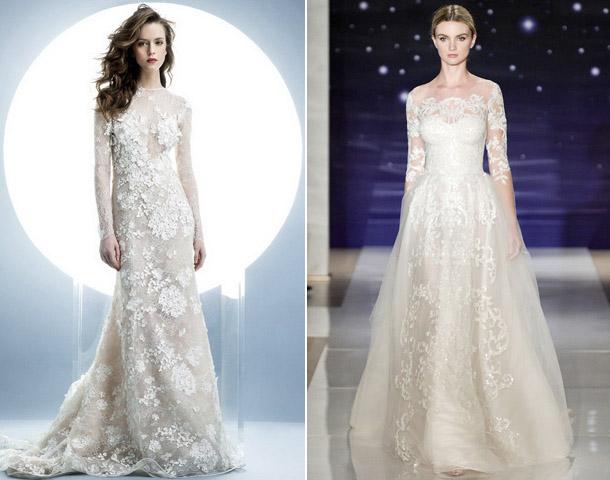 4c2156632f504f Весільні сукні 2016 року: тренди та фото модних колекцій