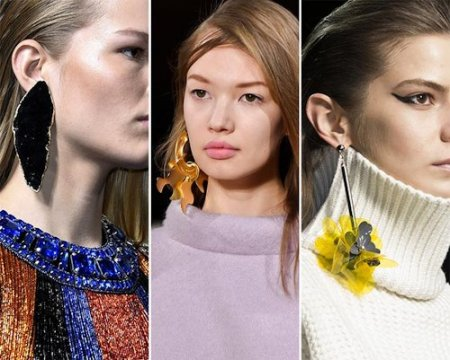 Модні прикраси 2016: геометрія і обсяг